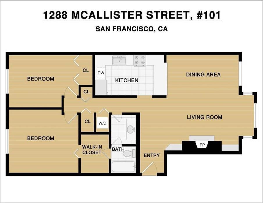 1288 McAllister Street Unit: 101 photo