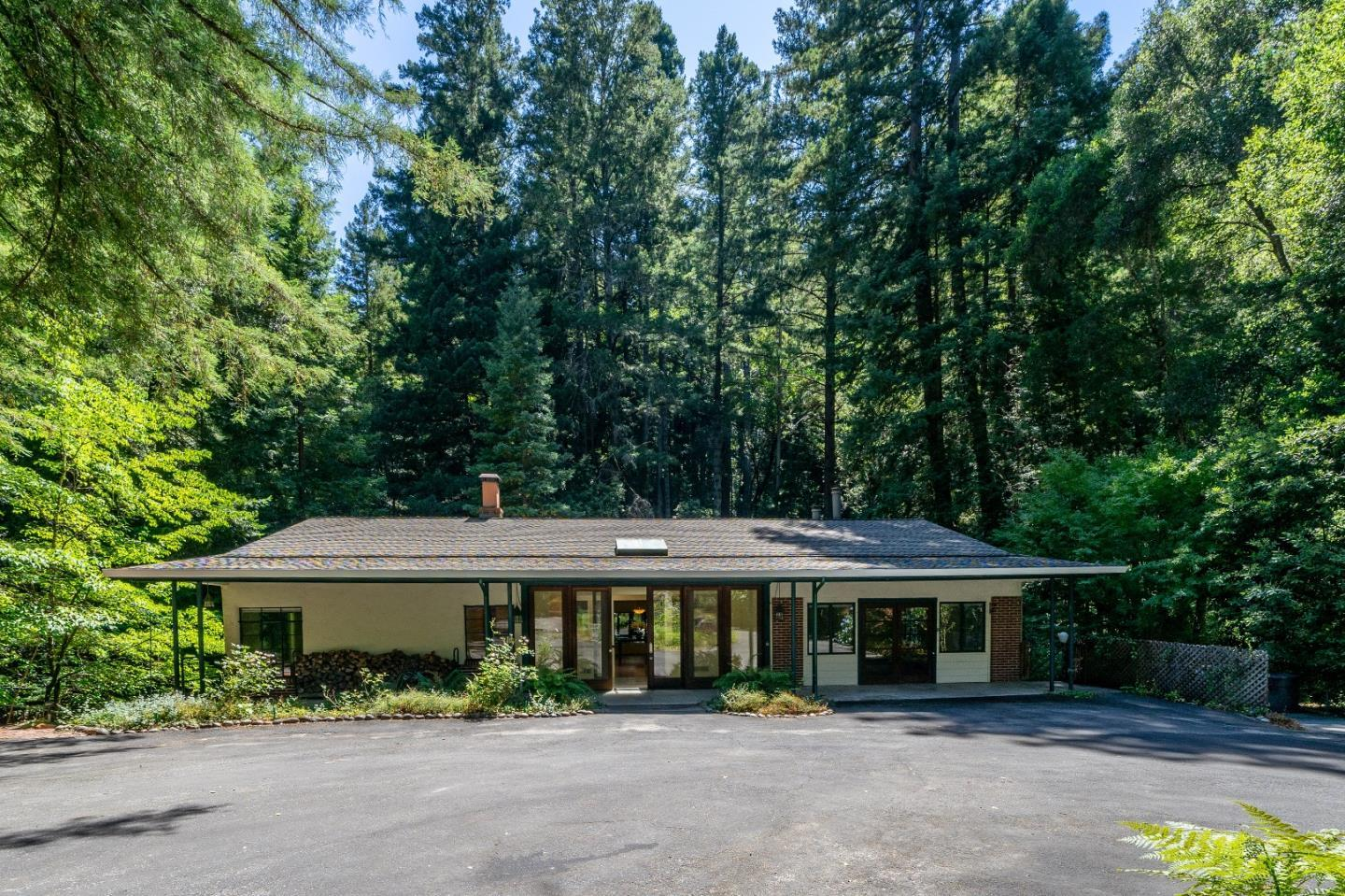 Inviting Retreat in the Redwoods