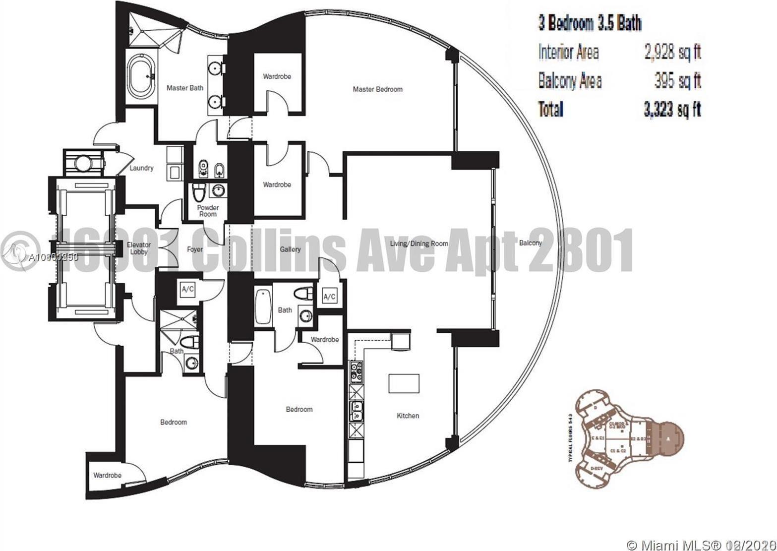 16001 COLLINS AVE Unit: 2801 preview