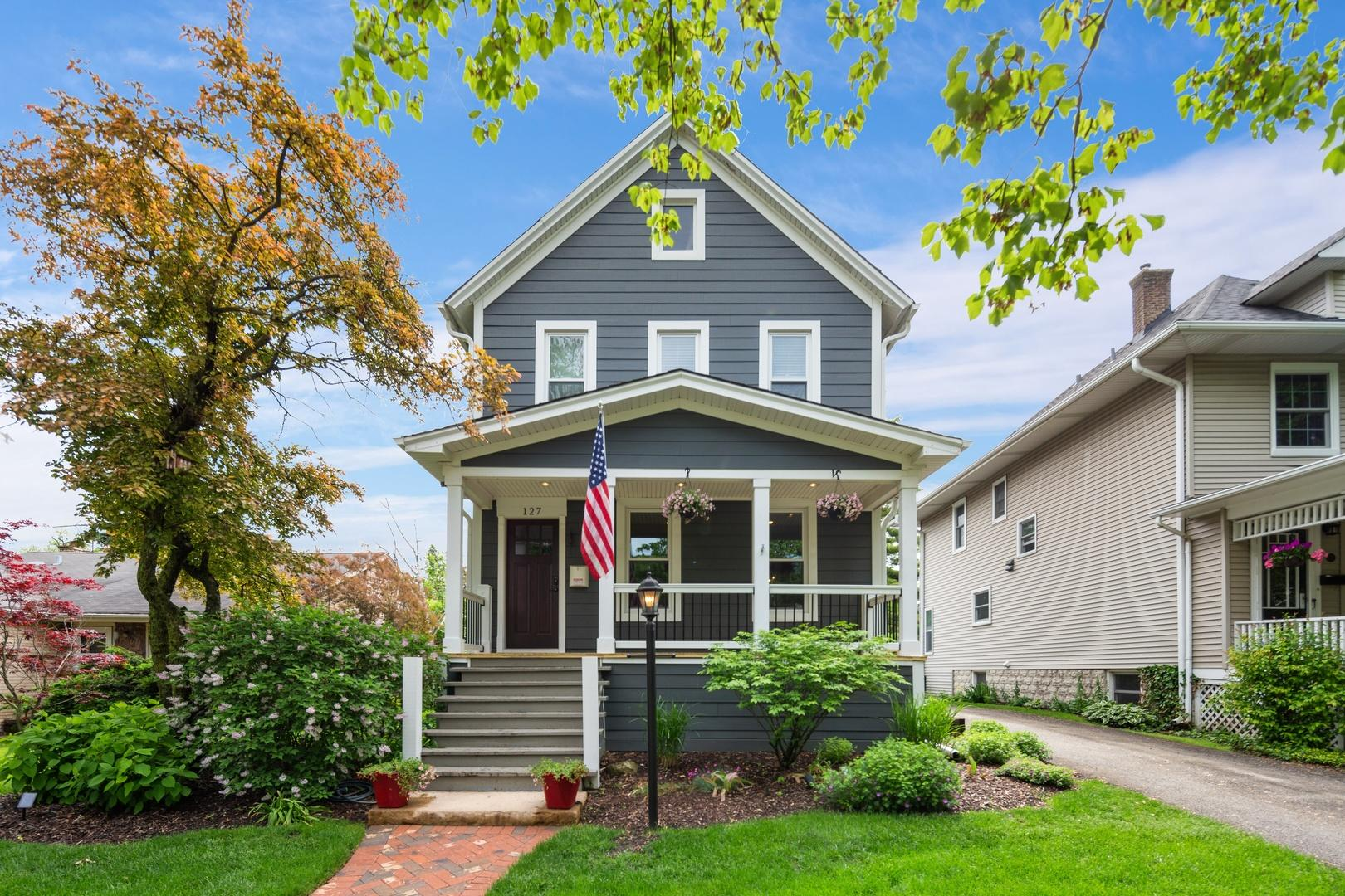 This Classic Home is Located in the Heart of Hinsdale