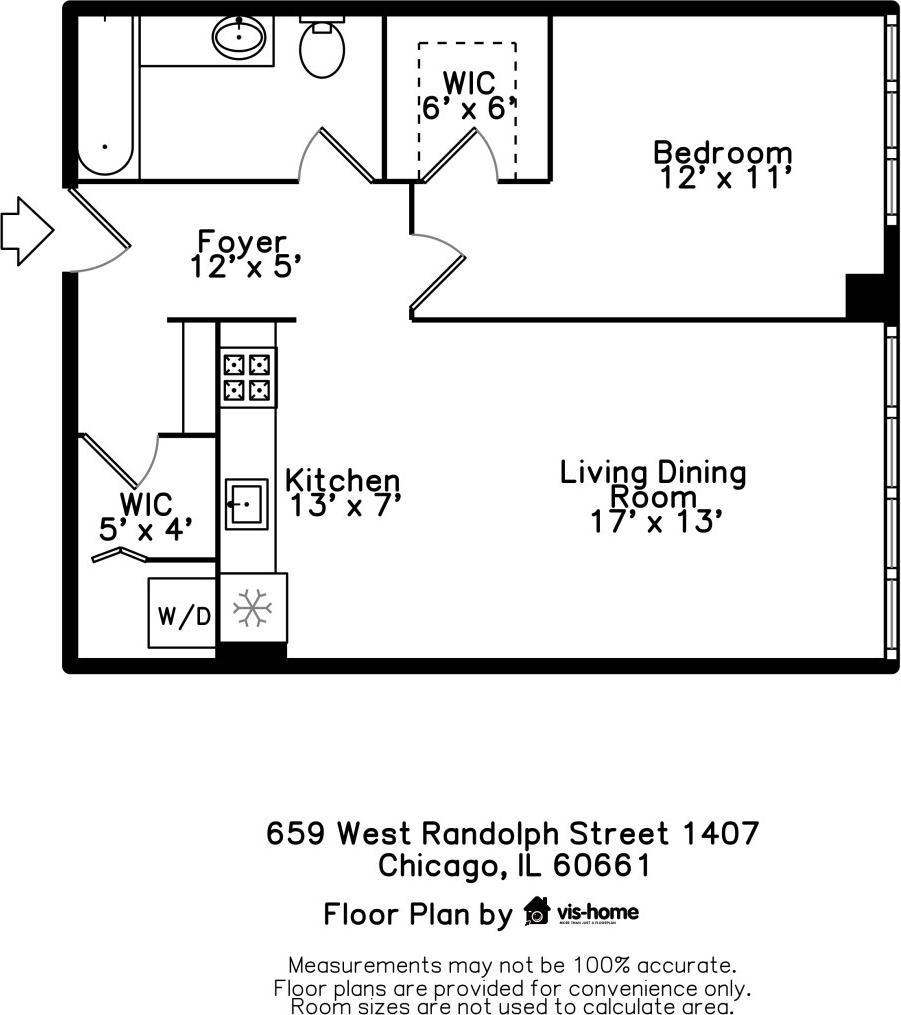 659 W Randolph  Street, Unit 1407 photo