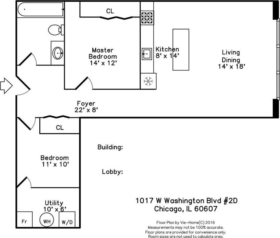 1017 W Washington  Boulevard, Unit 2D photo