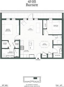 45 Burnett St Unit: 406 preview