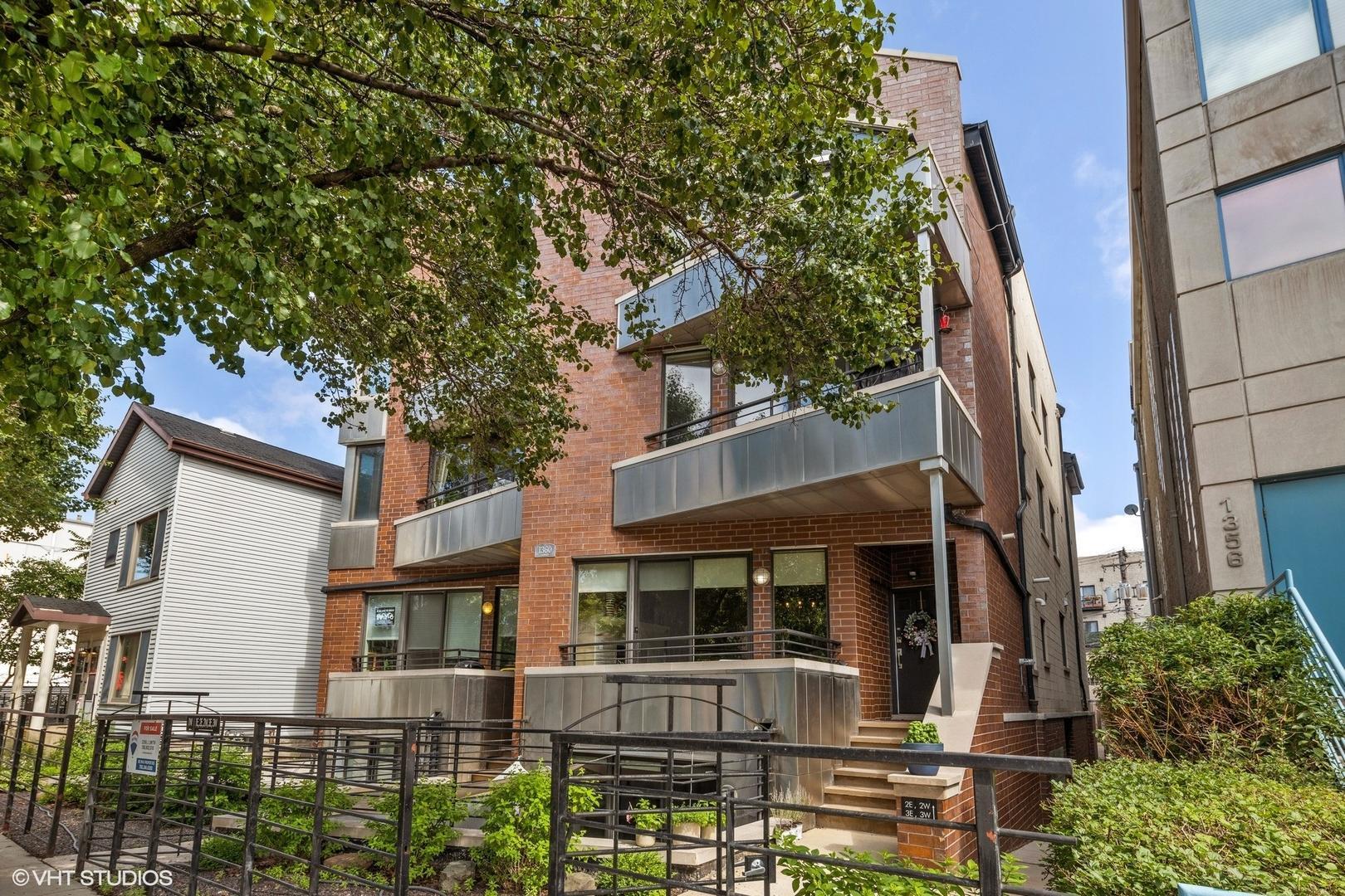 1360 W Hubbard Street , Unit 1E