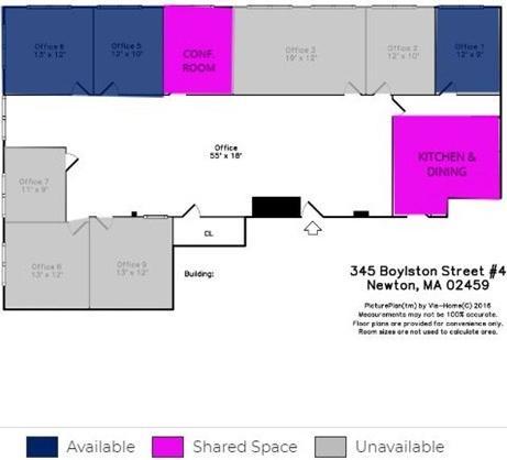 345 Boylston Street Unit: 4th FL #5