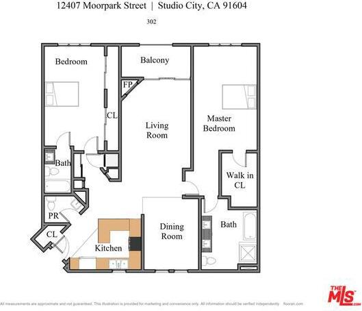 12407 Moorpark St # 302 preview