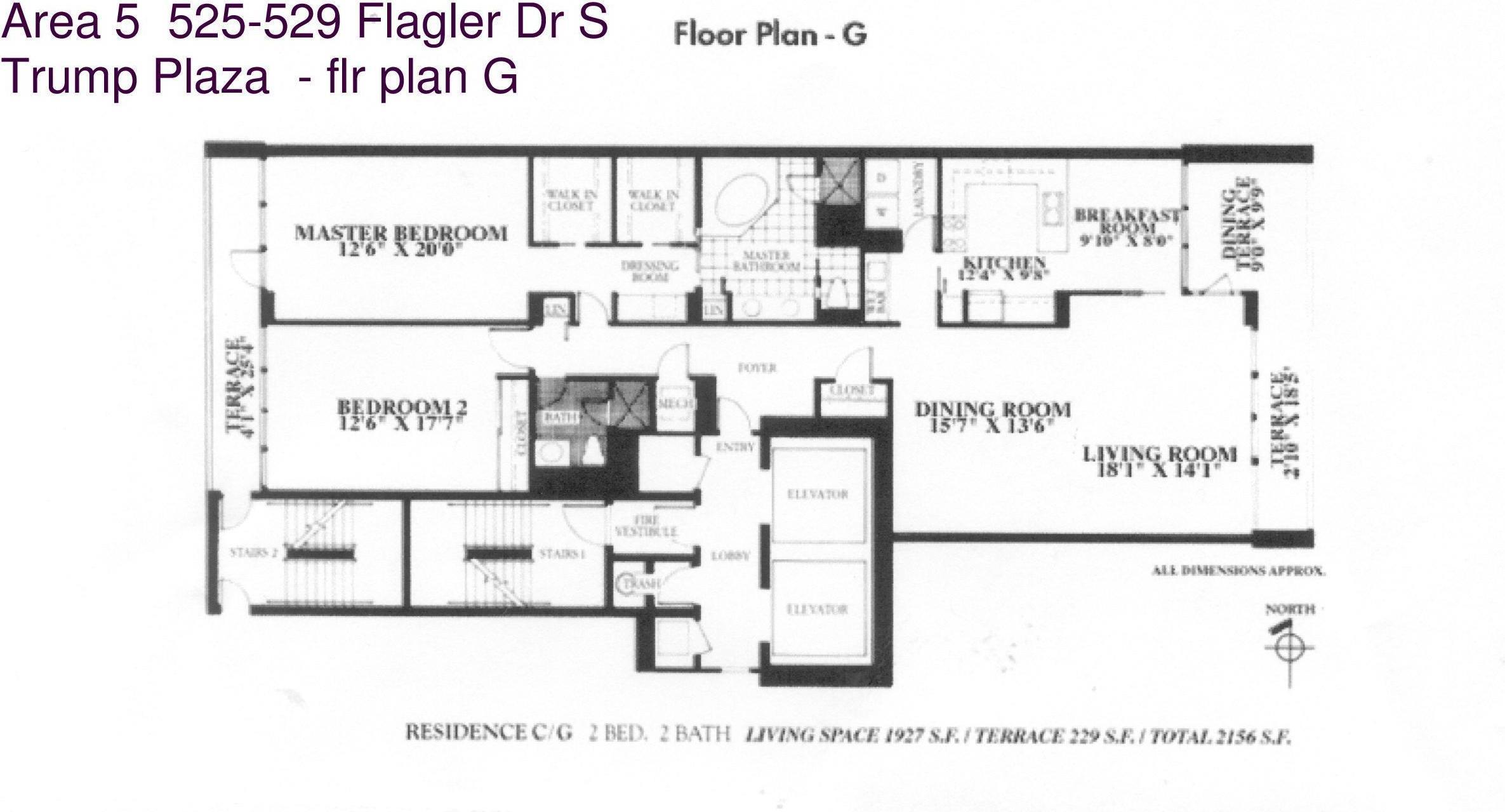 529 S Flagler Drive Unit: 9g